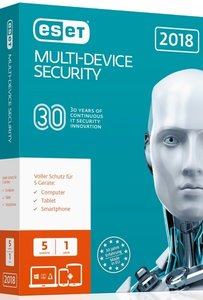 ESET Multi-Device Security 2018 Edition 5 User. Für Windows Vist