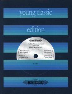 Kleine Präludien und Fughetten, für Klavier, mit Audio-CD