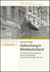 Ostforschung in Westdeutschland