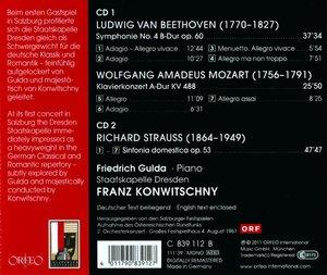 Sinfonie 4,Klavierkonz.KV 488,Sinfonia Domestica