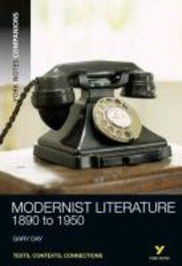 Modernist Literature:1890-1950