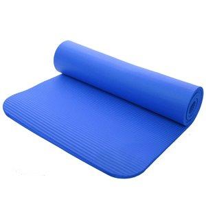 NBR Fitness-Yoga-Übungsmatte blau