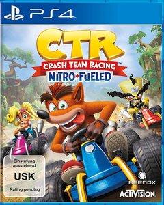 CTR Crash Team Racing Nitro Fueled, PS4-Blu-ray Disc