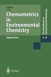 Chemometrics in Environmental Chemistry - Applications