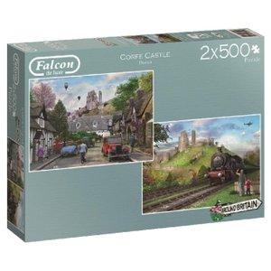 Around Britain (Puzzle), Corfe Castle Dorset