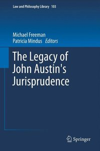 The Legacy of John Austin's Jurisprudence