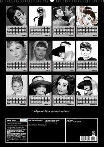 Hollywood-Diva. Audrey Hepburn (Wandkalender 2019 DIN A2 hoch)