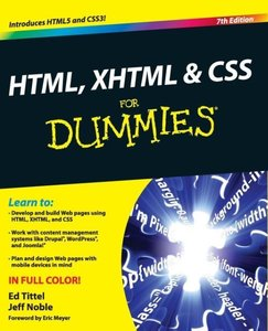 HTML, XHTML & CSS For Dummies