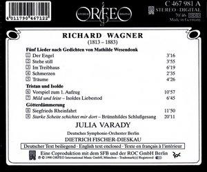 Wesendonk-Lieder (AZ) Tristan/Götterdämmerung