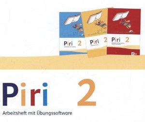 Piri Das Sprach-Lese-Buch / Arbeitsheft Druckschrift mit CD-ROM