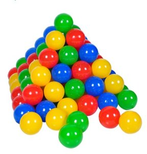 Knorrtoys 56789 - Ballset 100 Stück, 6 cm, im Netz
