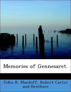 Memories of Gennesaret.