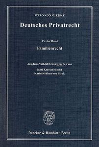 Deutsches Privatrecht 4