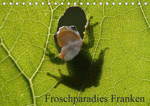 Froschparadies Franken (Tischkalender 2019 DIN A5 quer)