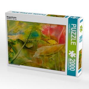 Morgenfrische 2000 Teile Puzzle quer