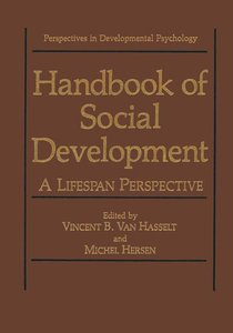 Handbook of Social Development