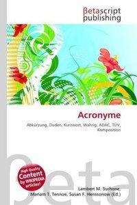 Acronyme