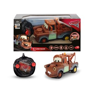 Dickie 203084008 - Disney Cars 3 - RC Turbo Racer Mater mit Fern