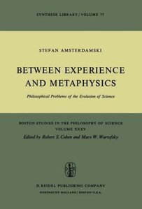 Between Experience and Metaphysics