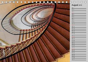 Faszination Treppen (Tischkalender 2019 DIN A5 quer)