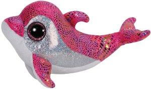 Sparkles - Delfin, pink, 15cm