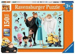 Ravensburger 100439 - Gru und seine Familie, Minions, 150 XXL-Te
