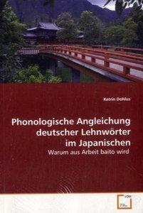 Phonologische Angleichung deutscher Lehnwörter imJapanischen