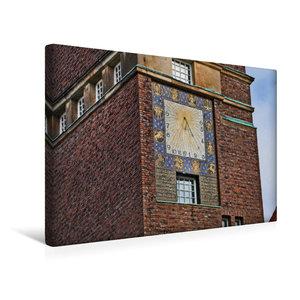 Premium Textil-Leinwand 45 cm x 30 cm quer Hochzeitsturm Mathild