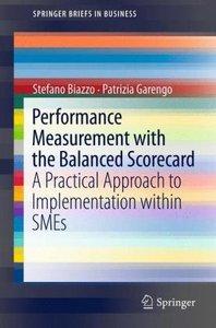 Performance Measurement with the Balanced Scorecard