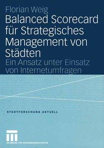 Balanced Scorecard für Strategisches Management von Städten