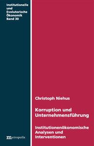 Korruption und Unternehmensführung
