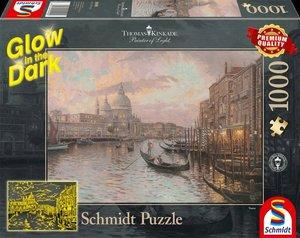 In den Straßen von Venedig, Glow in the Dark (Puzzle)