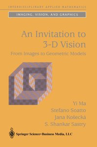 An Invitation to 3-D Vision
