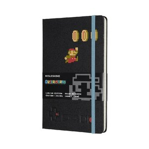 Moleskine Notizbuch - Super Mario Large/A5, Liniert, Hard Cover,