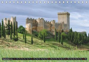 Burgen in Spanien (Tischkalender 2019 DIN A5 quer)