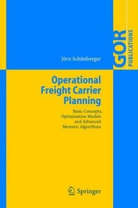 Operational Freight Carrier Planning