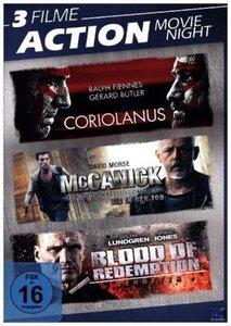 Action Movie Night, 4 DVD