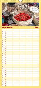 Erlebnis Indonesien - Familienplaner hoch (Wandkalender 2020 , 2