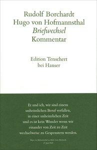 Briefwechsel 1901 - 1918.