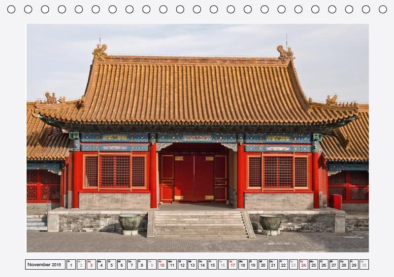 Historisches Peking (Tischkalender 2019 DIN A5 quer) - zum Schließen ins Bild klicken