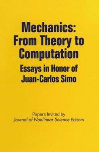 Mechanics: From Theory to Computation