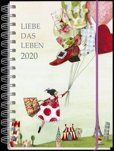Liebe das Leben Taschenkalender 2020