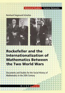 Rockefeller and the Internationalization of Mathematics Between
