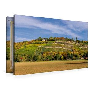 Premium Textil-Leinwand 90 cm x 60 cm quer Steillagen bei Naumbu