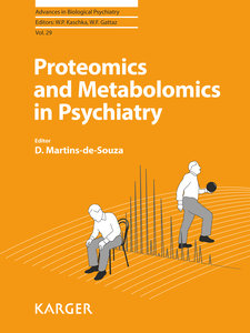 Proteomics and Metabolomics in Psychiatry