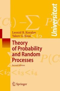 Theory of Probability and Random Processes