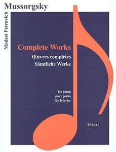 Sämtliche Werke, für Klavier