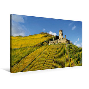 Premium Textil-Leinwand 90 cm x 60 cm quer Burg Fürstenberg