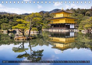 Japan - Reise nach Fernost (Tischkalender 2020 DIN A5 quer)