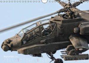 Hellenic Army AH-64 (Wall Calendar 2015 DIN A4 Landscape)